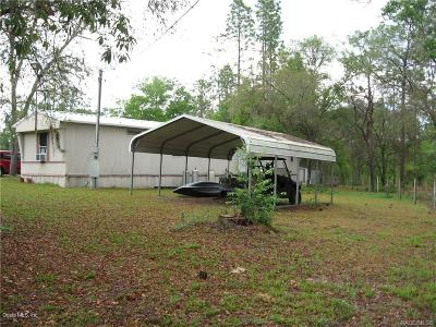 Dunnellon Mobile/Manufactured For Sale: 18545 SW 49 Place