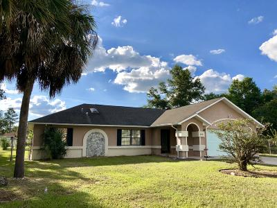 Ocala Single Family Home For Sale: 223 Marion Oaks Golf Way