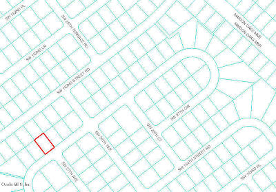 Ocala Residential Lots & Land For Sale: SW 27th Cir