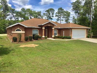 Marion County Single Family Home For Sale: 4795 SW 107th Lane