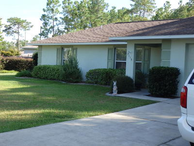 Ocala Single Family Home For Sale: 7116 Hemlock Loop Loop