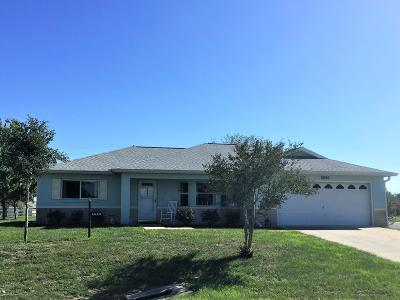 Ocala Single Family Home For Sale: 9890 SW 97th Lane