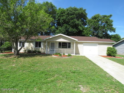Ocala Single Family Home For Sale: 10960 SW 83rd Terrace