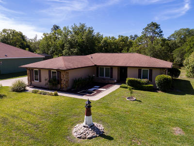 Ocala Single Family Home For Sale: 5708 SW 109 Street Road