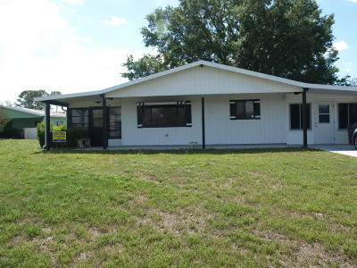 Ocala Single Family Home For Sale: 10021 SW 94 Street