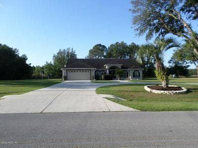 Dunnellon Single Family Home For Sale: 20370 SW Beach Boulevard