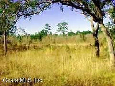 Levy County Residential Lots & Land For Sale: SE 72nd Place