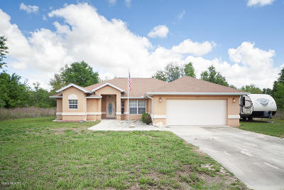 Dunnellon Single Family Home For Sale: 13335 SW 113th Lane