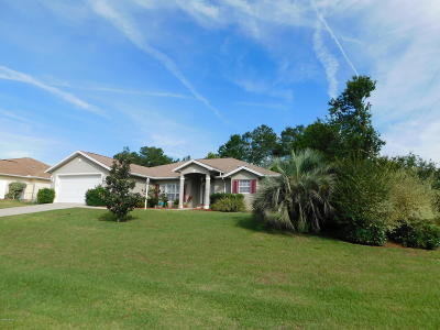 Ocala Single Family Home For Sale: 4505 SW 108 Place