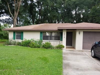 Belleview Single Family Home For Sale: 3815 SE 134th Place