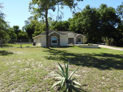 Summerfield Single Family Home For Sale: 10180 SE Sunset Harbor Rd