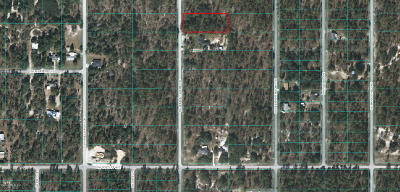 Dunnellon FL Residential Lots & Land For Sale: $8,000