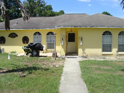 Marion County Single Family Home For Sale: 13990 Us-301
