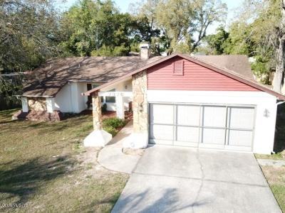 Spring Hill FL Single Family Home For Sale: $132,500
