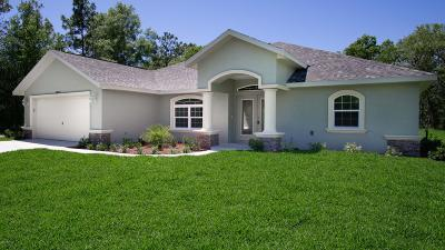 Dunnellon Single Family Home For Sale: 9924 SW 196th Avenue Road