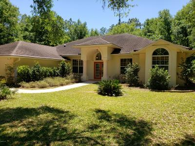Marion County Single Family Home For Sale: 18371 SW 75 Loop