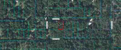 Citrus County, Levy County, Marion County Residential Lots & Land For Sale: SE 131st Place