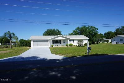 Spruce Creek Single Family Home Sold: 10880 SW 62 Av Rd