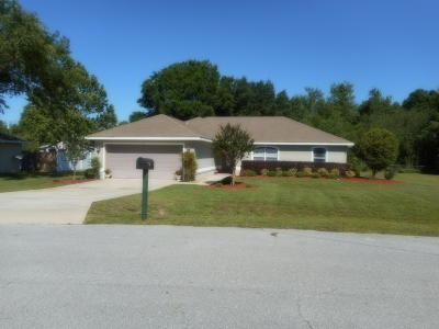 Marion County Single Family Home For Sale: 3 Almond Pass Way