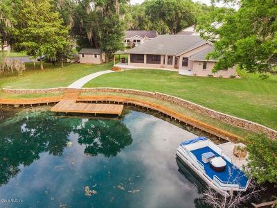 Dunnellon Single Family Home For Sale: 11635 E Blue Cove Drive