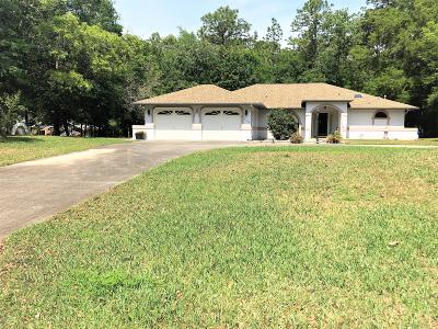 Marion County Single Family Home For Sale: 9258 SW 202 Avenue Road