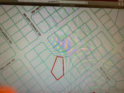 Citrus County, Levy County, Marion County Residential Lots & Land For Sale: SW 29th Terrace Road