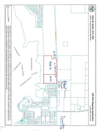 Citrus County, Levy County, Marion County Residential Lots & Land For Sale: 21502 W Hwy 40