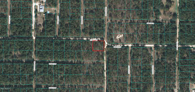 Citrus County, Levy County, Marion County Residential Lots & Land For Sale: SW 13th Street