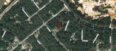 Citrus County, Levy County, Marion County Residential Lots & Land For Sale: Spruce Road And Spruce Terr Run