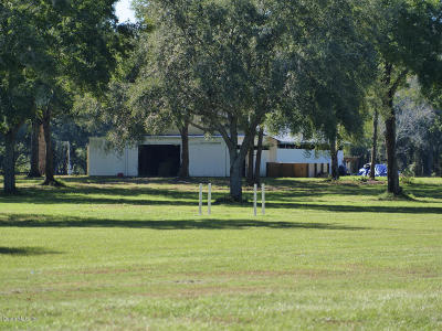 Ocala Farm For Sale: 1091 SW 123rd Place, Lot 04