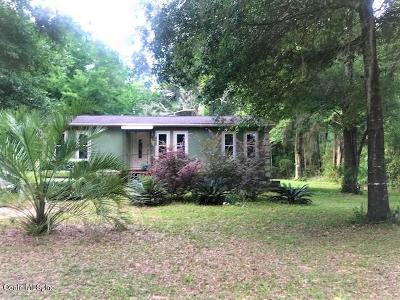 Dunnellon Single Family Home For Sale: 18785 SW 31st Street