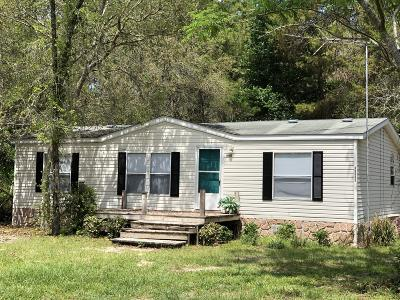 Fort McCoy Mobile/Manufactured For Sale: 10983 E Hwy 318