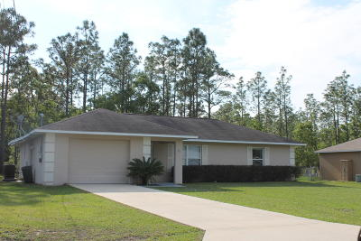 Ocala FL Single Family Home For Sale: $132,900