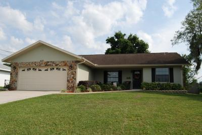Belleview Single Family Home For Sale: 4236 SE 107th Lane
