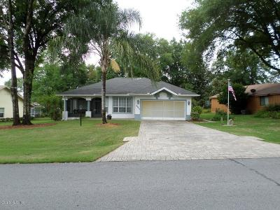 Dunnellon Single Family Home For Sale: 19862 SW 93 Lane Road