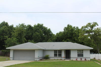 Belleview Single Family Home For Sale: 13340 SE 102nd Court