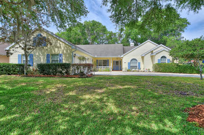 Dunnellon Single Family Home For Sale: 11654 E Blue Cove Drive