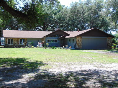 Dunnellon Single Family Home For Sale: 3576 SW Shorewood Drive