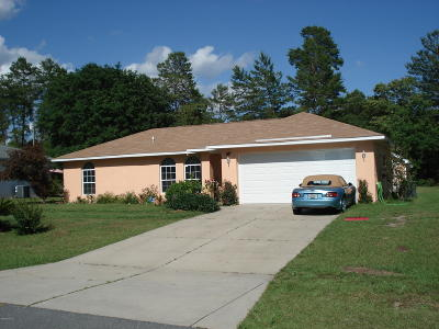 Ocala Single Family Home For Sale: 3365 SW 129th Loop