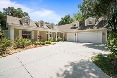 Summereffield, Summerfield, Summerfield Fl, Summerfiled Single Family Home For Sale: 10235 SE Sunset Harbor Road