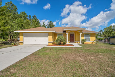 Ocala Single Family Home For Sale: 13050 SW 79th Circle