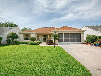 The Villages Single Family Home For Sale: 9310 SE 171st Le Flore Lane