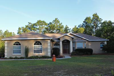 Ocala Single Family Home For Sale: 13125 SW 84th Terrace Road