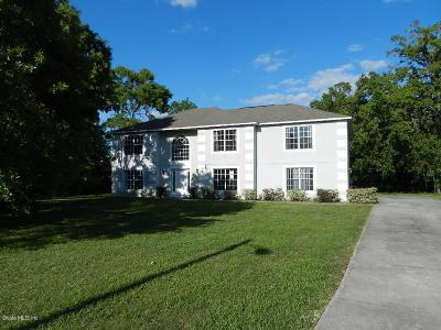 Ocala Single Family Home For Sale: 11715 SW 57 Terrace