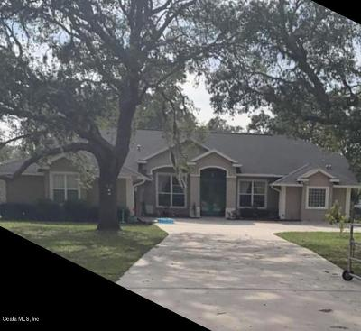 Dunnellon Single Family Home For Sale: 8702 SW 137th Court Court