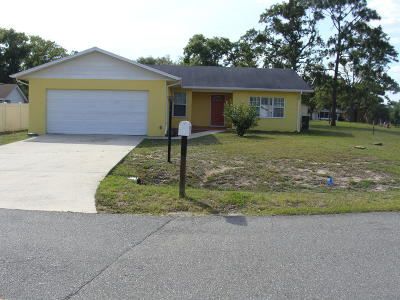 Ocala Single Family Home For Sale: 486 Water Court