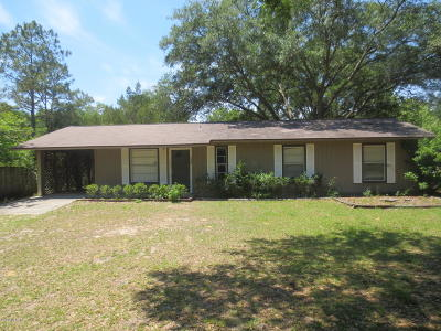 Ocklawaha Single Family Home For Sale: 1938 SE 161st Terr Terrace