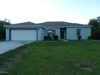 Ocala Single Family Home For Sale: 159 Marion Oaks Trail