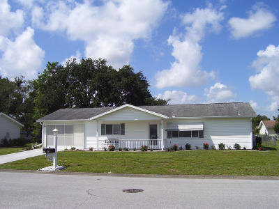 Summerfield FL Single Family Home Pending: $148,500