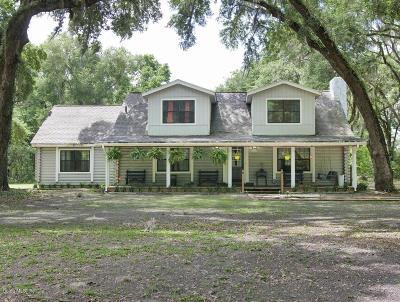 Dunnellon Single Family Home Pending: 10280 SW 137th Avenue